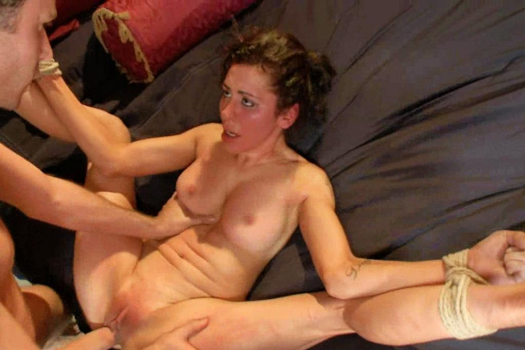 Wife tied and fucked