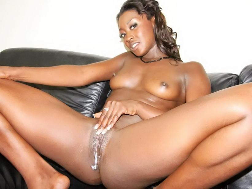 Movie shot ebony gallery cum