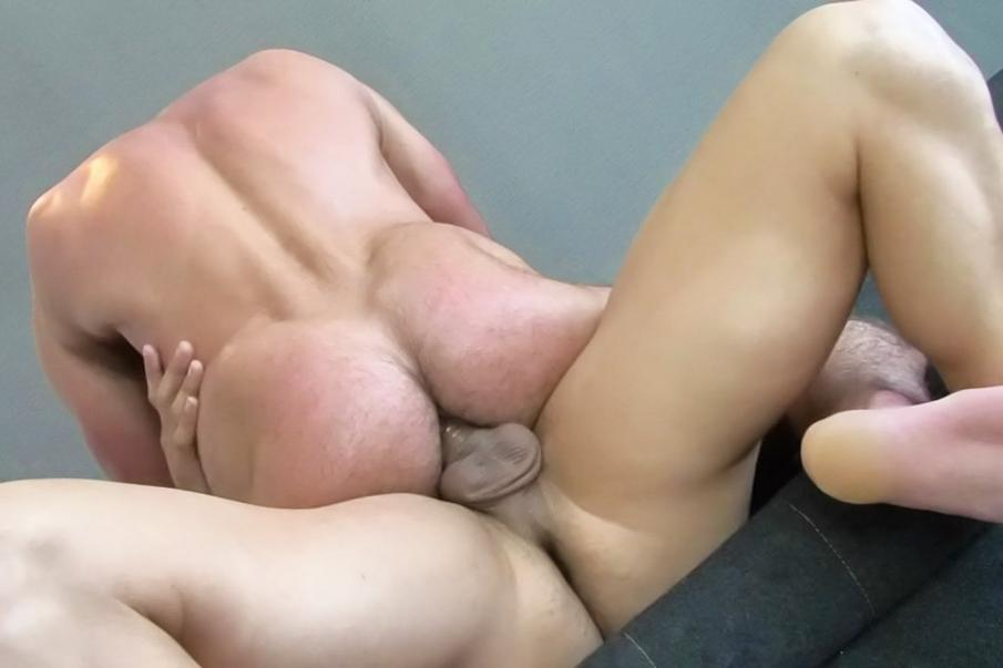 Fat Man Masturbating